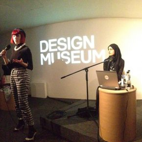 Professor Reina Lewis in conversation with Barjis Chohan at The Design Museum.
